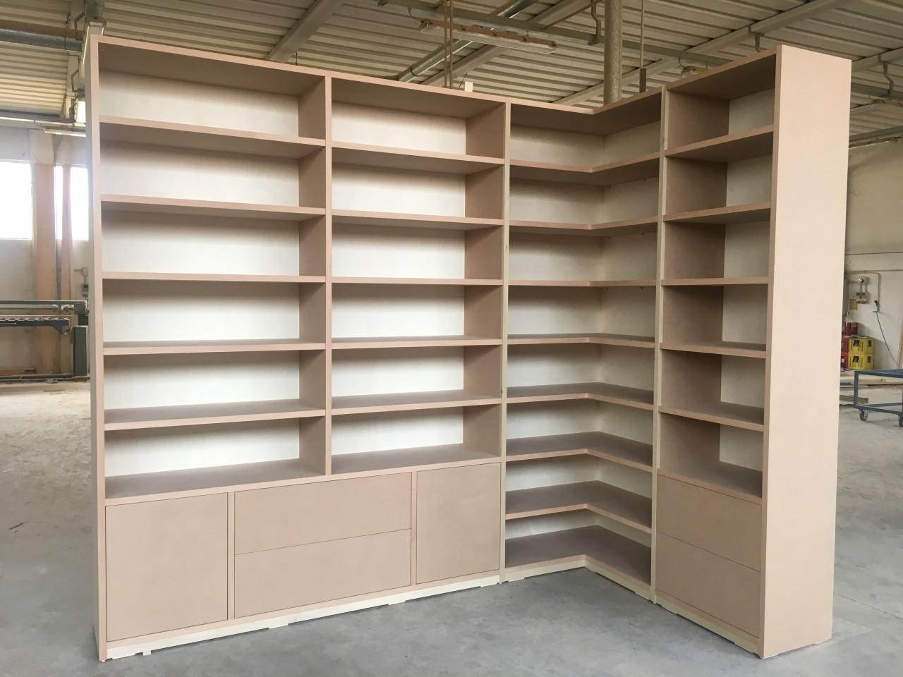 Libreria ad angolo rif tommaso valente armadi bovolone - Di tommaso mobili ...