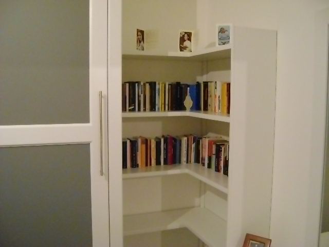 Combinazione ad angolo armadio libreria com rif gianni for Libreria ad angolo